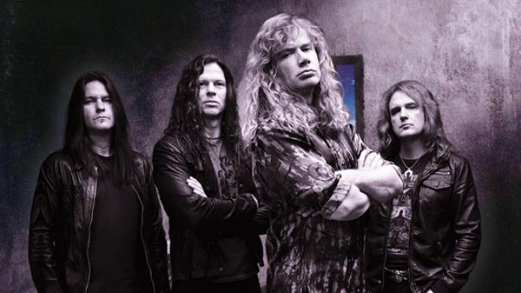 Megadeth cambia de lugar