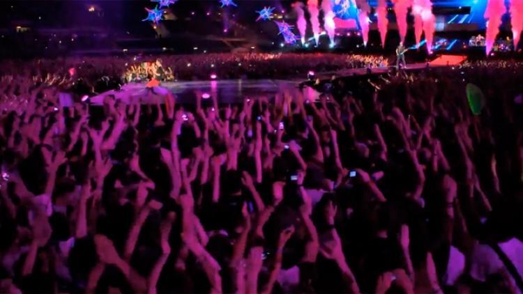 "Muse pública nuevo tráiler de ""Live At Rome Olympic Stadium"""