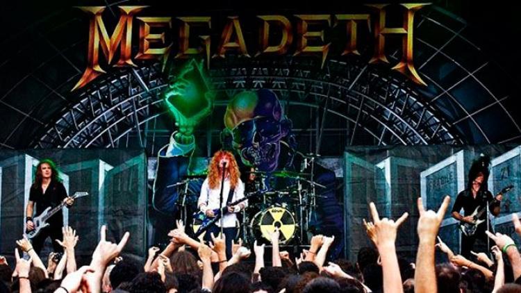 """Megadeth estrena track de """"Supercollider"""""""