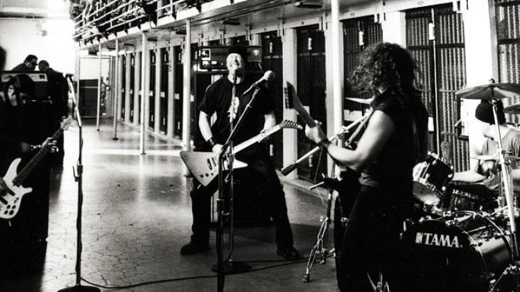 Metallica a la cárcel