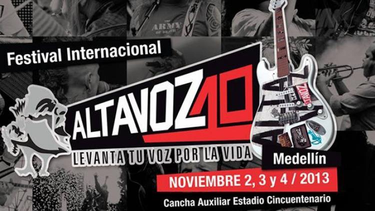 Medellín recibe al Festival Altavoz en su décima edición