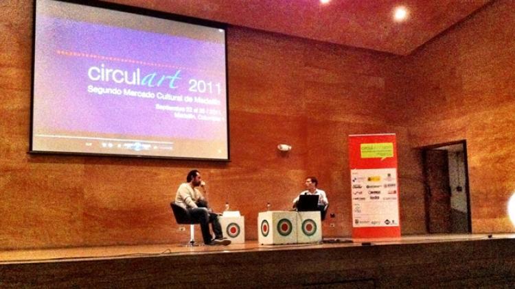 Radiónica en Circulart2011. ¡Saludos desde Medellín!