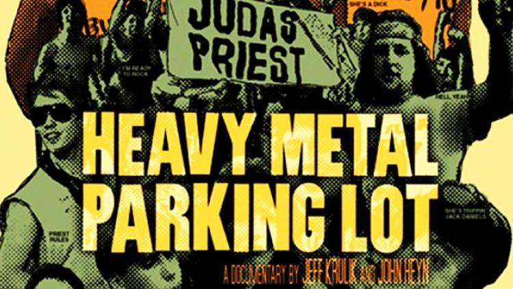 Parqueadero ochentero de metal
