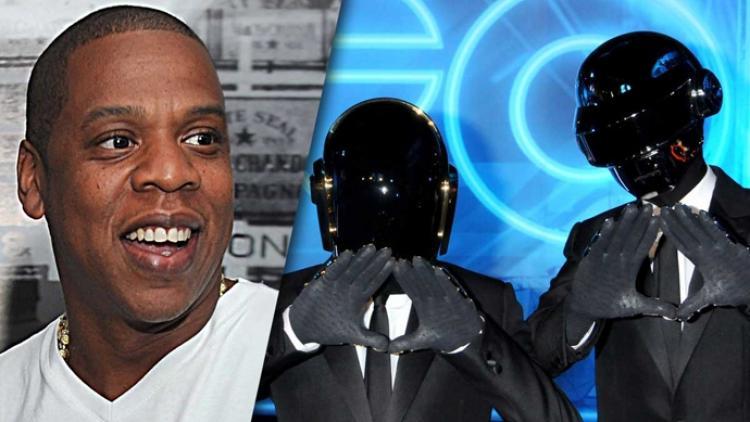 Filtran supuesta colaboración de Daft Punk y Jay Z