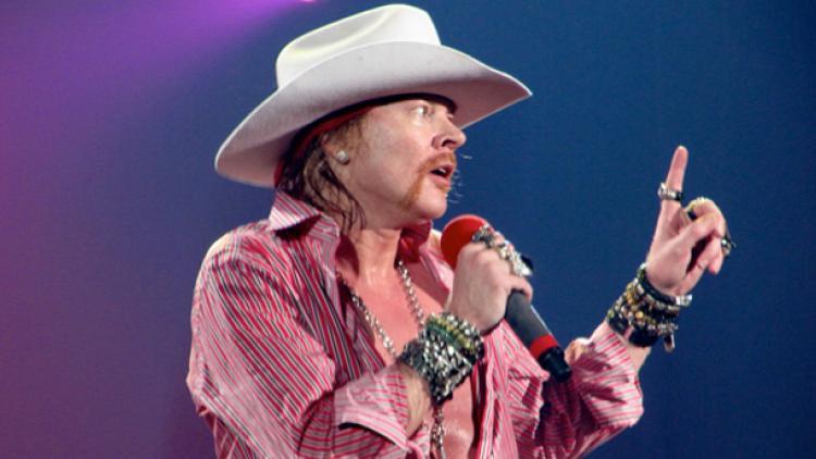 Guns N' Roses: lo que pasa en Las Vegas...