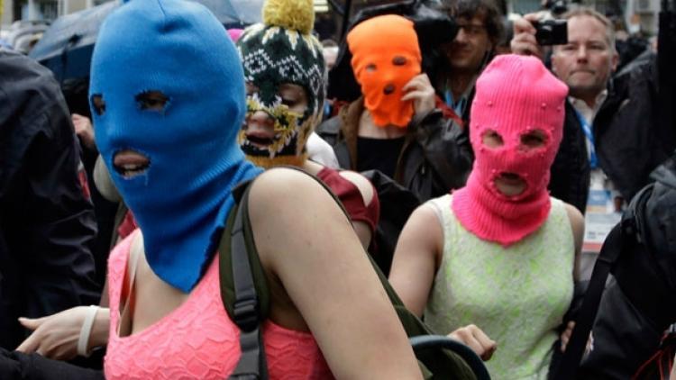 Las dos Pussy Riot detenidas en Sochi fueron liberadas
