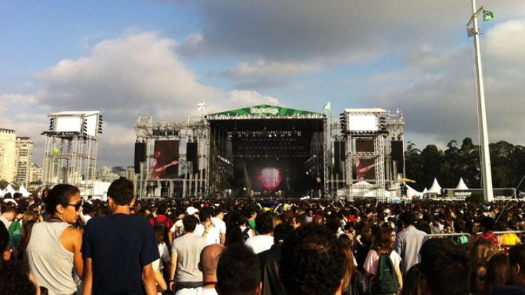 Segundo día de Radiónica en Lollapalooza Brasil