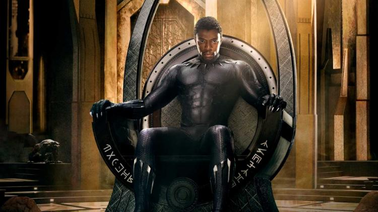 El actor norteamericano Chadwick Boseman interpreta a Black Panther.