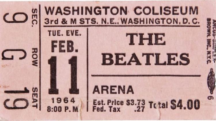 El debut en vivo de The Beatles en Estados Unidos