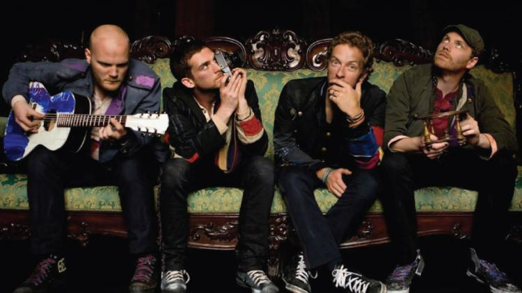 Coldplay 2015.