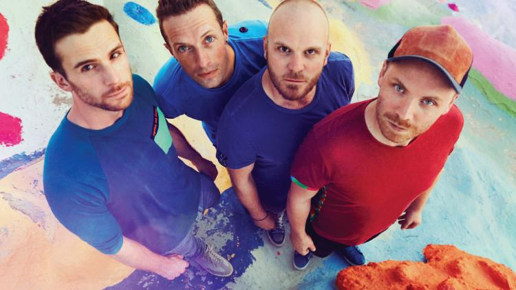 Coldplay está conformado por Chris Martin, Guy Berryman, Jon Buckland y Will Champion.