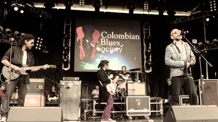 La Colombian Blues Society en Rock al Parque 2014
