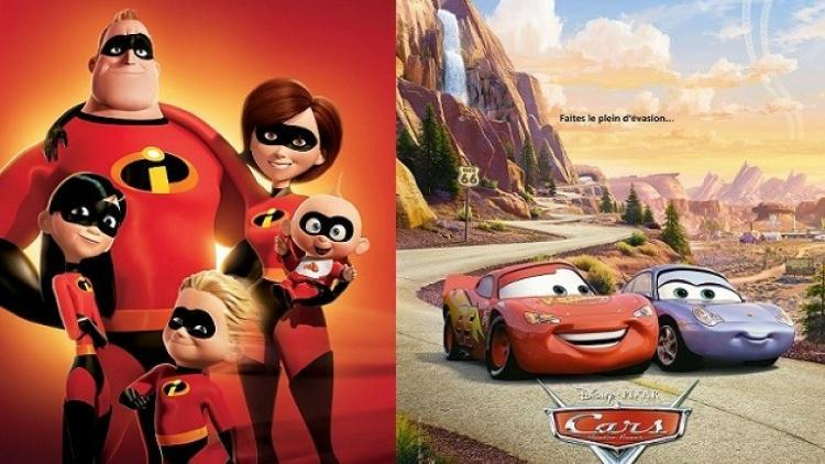 Disney prepara las nuevas secuelas de Cars y Los Increíbles