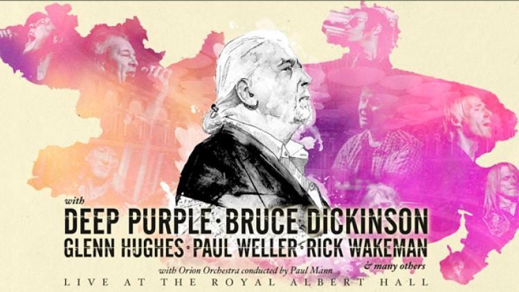 Lanzan tributo a Jon Lord con Bruce Dickinson, Glenn Hughes y más