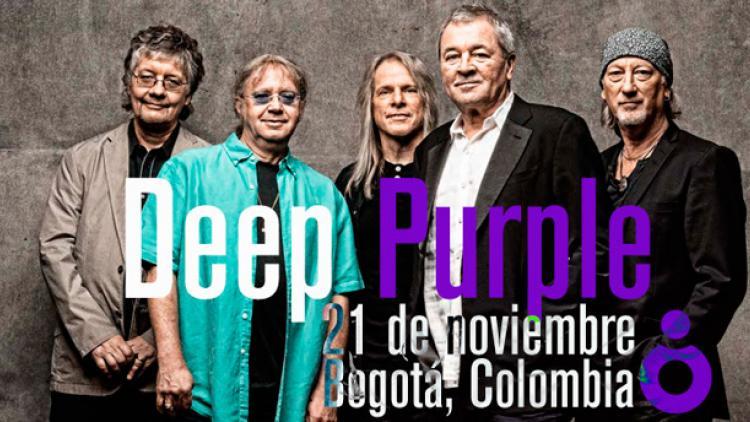 Bananas... ¡Deep Purple tocará en Bogotá!