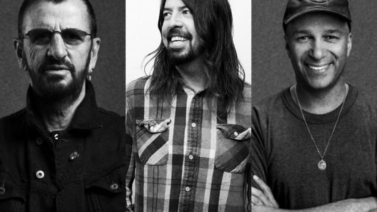 Ringo Starr, Dave Grohl y Tom Morello estrenan disco hoy.