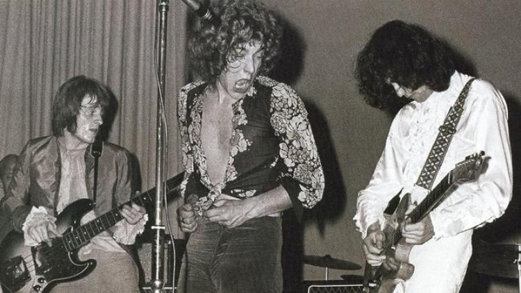 Se cumplen 45 años del debut de Led Zeppelin