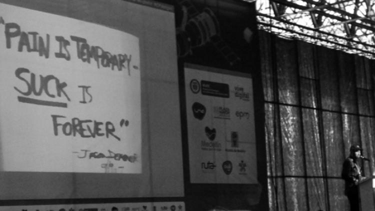 """""""Los sacrificios valen la pena"""" Jay Shuster en Campus Party 2013"""