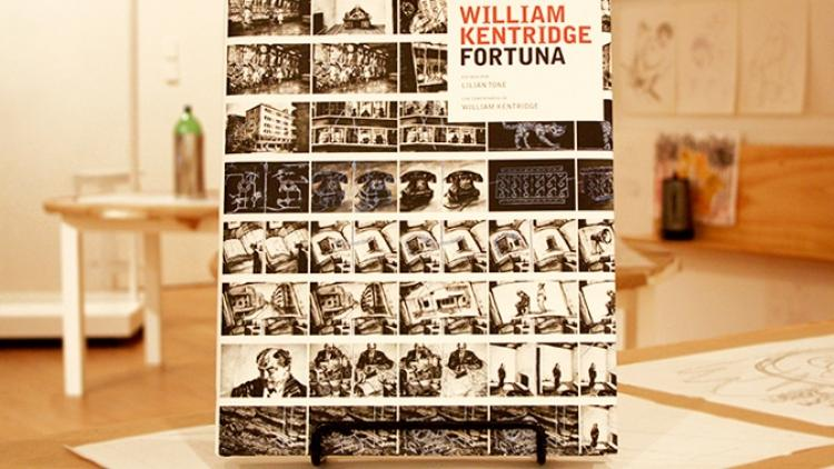 El libro de la exposición de William Kentridge