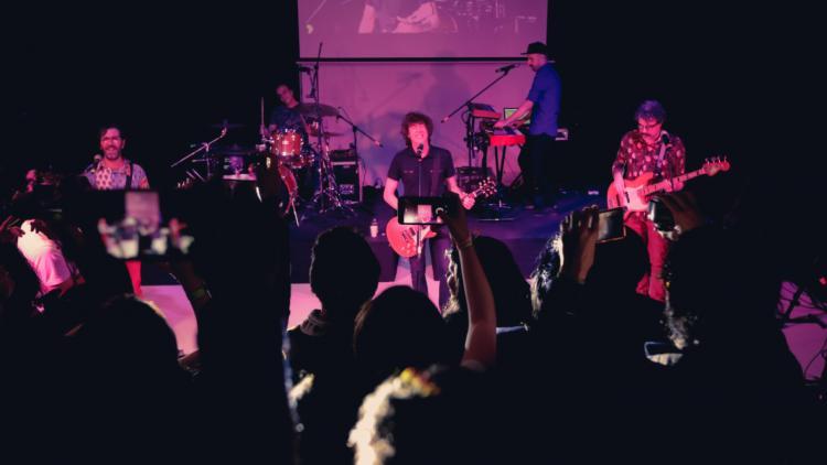 El Cuarteto de Nos en vivo. Todas las fotos de Sandro Sánchez para Radiónica.