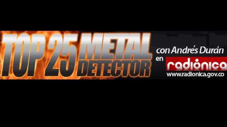 Top 50 Metal Detector: álbumes 2012