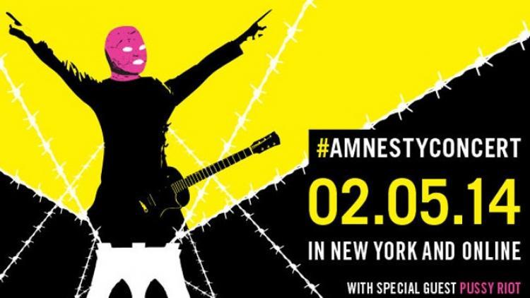 Pussy Riot tocará en concierto de Amnistía Internacional