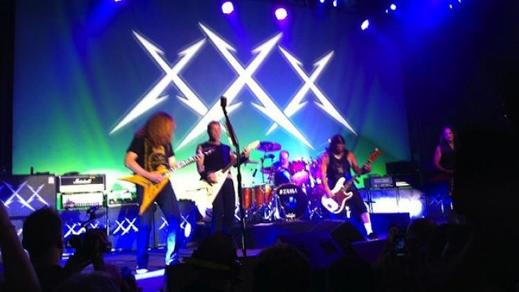 Dave Mustaine se une a la celebración de los 30 años de Metallica