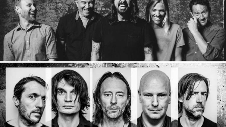 Radiohead vs Foo Fighters