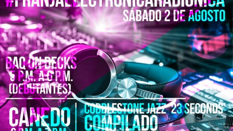 Franja Electrónica Radiónica: Slow techno y minimal