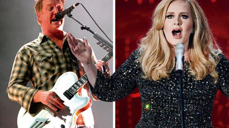 Así suena 'No One Knows' de Queens Of the Stone Age con la música de 'Skyfall' de Adele