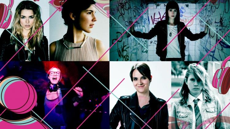 Las mujeres en la música electrónica