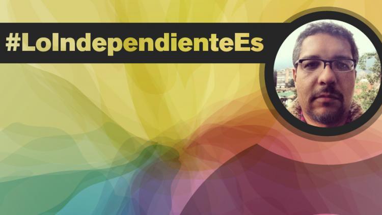 """""""Para construir un mercado independiente en Colombia lo más importante es que el público entienda que tiene que invertir"""": Gabriel García"""