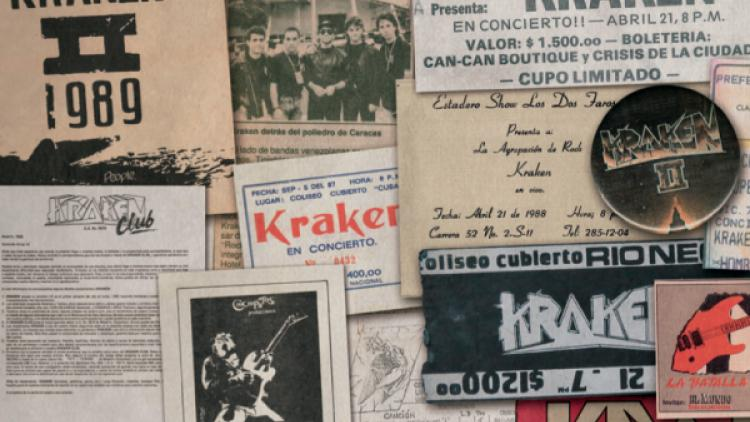 30 años de Metal en el libro de Kraken