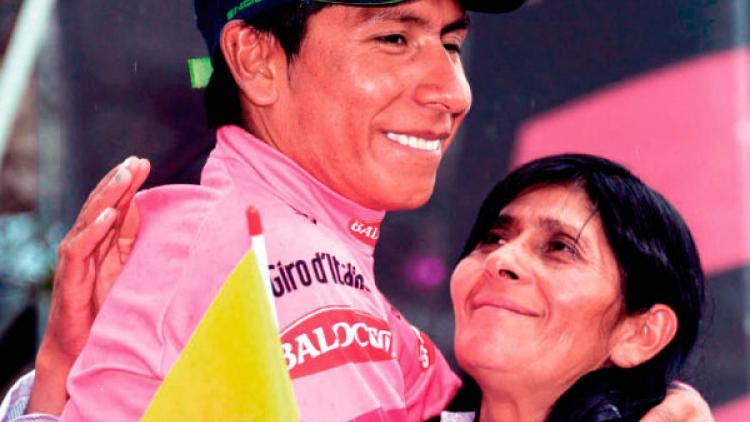 Historias en bici, por doña Eloísa, la mamá de Nairo