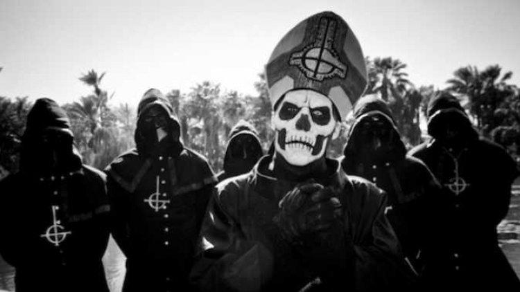 Ghost en Días de Radio antes de su concierto en Bogotá