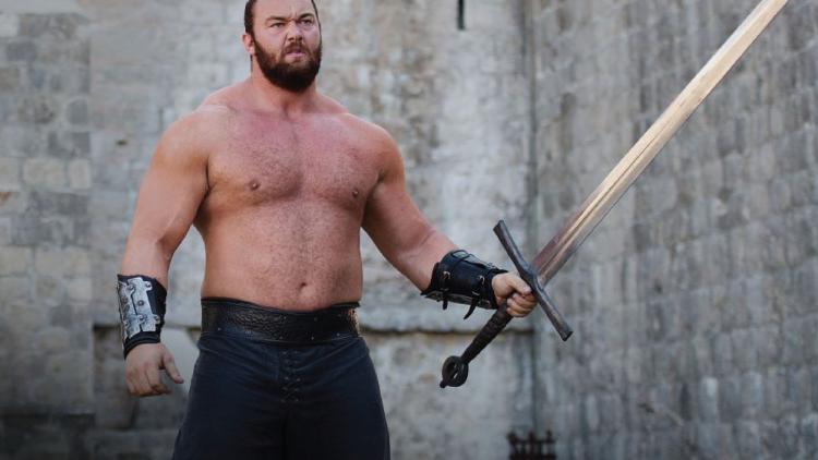 Hafþór Júlíus Björnsson, actor y deportista islandés de 27 años.