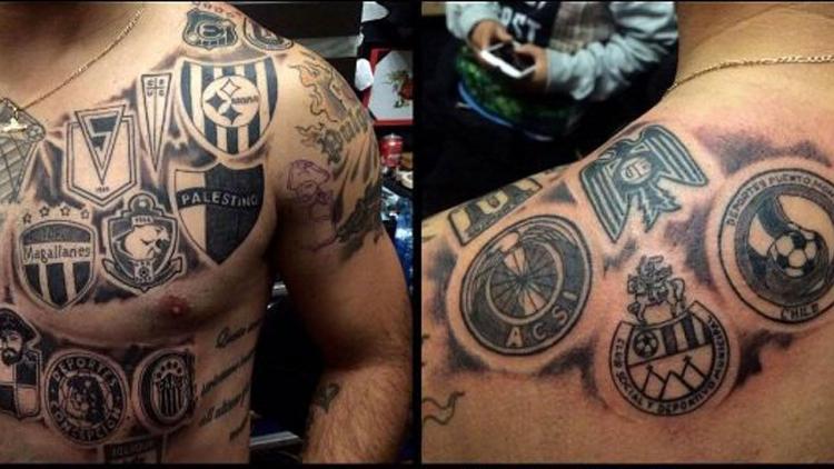 Fútbol y tatuajes: gratitud eterna