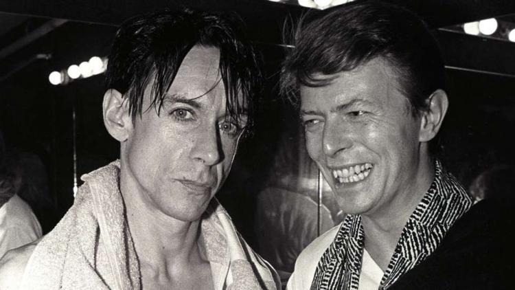 Bowie ayudó a componer y producir los álbumes 'The Idiot' y 'Lust for Life'
