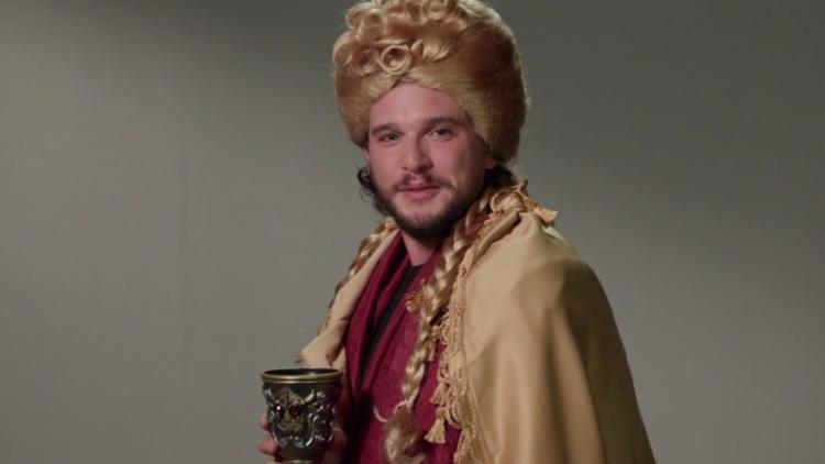 Vean a 'Jon Snow' interpretar a Cersei Lannister, Arya Stark y Harry Potter en un casting