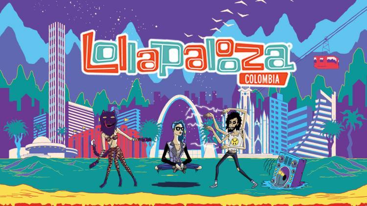 El festival Lollapalooza Colombia no se llevará a cabo
