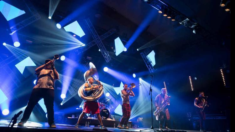 Foto por Nicolas Joubard tomada de la página oficial de Transmusicales