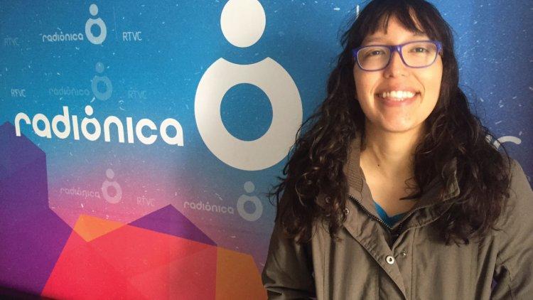 Laura Perilla de Electric Mistakes en Entrevistas Radiónica