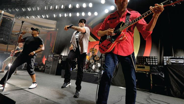 El supergrupo Prophets Of Rage y su canción debut