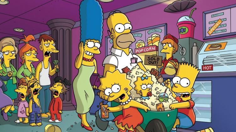 30 referencias cinematográficas en Los Simpson