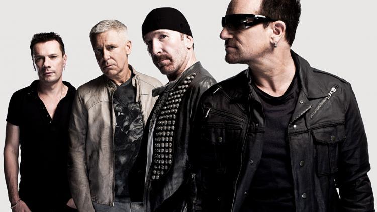 U2 son Bono, The Edge, Adam Clayton y Larry Mullen Jr. Imagen tomada de www.diariopresente.mx
