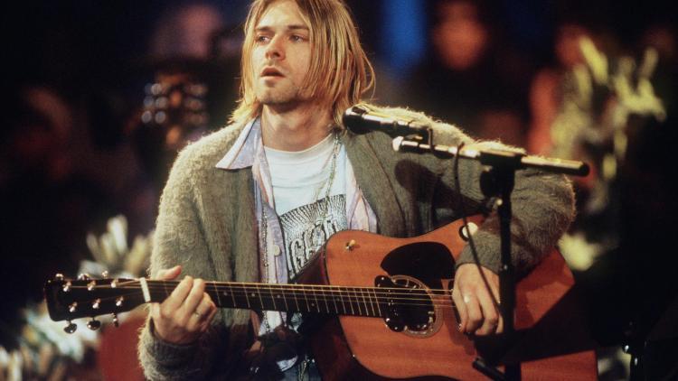 El grunge y Kurt Cobain