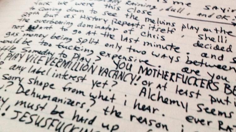 Abriendo el diario de Kurt Cobain, parte I