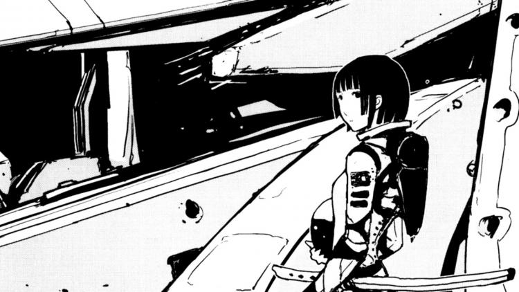 El arte de Tsutomu Nihei