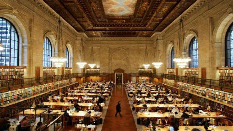 Biblioteca Pública de Nueva York.