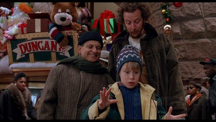 Macaulay Culkin, Daniel Stern y Joe Pesci.